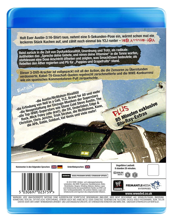The Attitude Era [Blu-ray]: Amazon.de: Steve Austin, The Rock, Mick ...