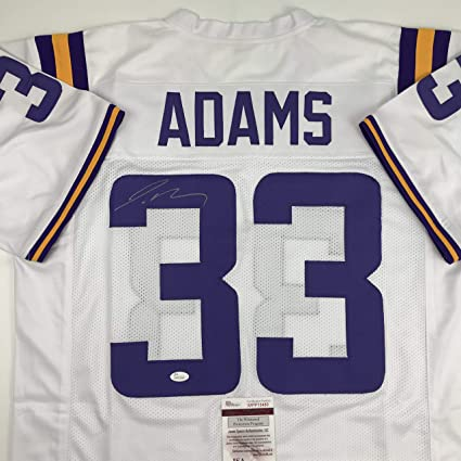 brand new 52c32 711c4 Autographed/Signed Jamal Adams LSU White College Football ...