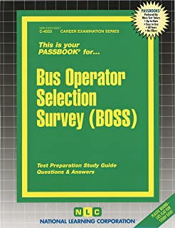 New york city bus operator exam review guide lewis morris bus operator selection survey boss passbooks fandeluxe Image collections