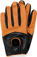Riparo Motorsports Men's Leather Driving Gloves