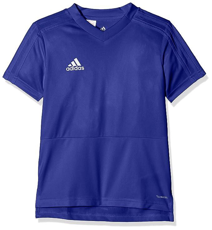 Adidas CG0374 T-Shirt, Unisex niños, Azul (Bold Blue/White), 5-6A: Amazon.es: Deportes y aire libre