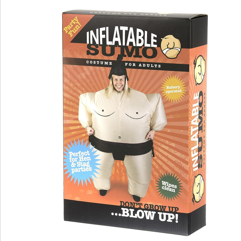Amazon.com: Gemmy – Sumo inflable para adulto, Bronceado ...