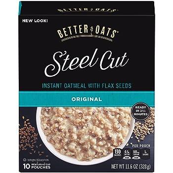 Better Oats Steel Cut Instant Oatmeal