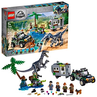 LEGO Jurassic World Baryonyx Face Off: The Treasure Hunt 75935 Building Kit