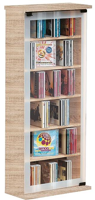 Möbel Aufbewahrung vcm regal dvd cd rack medienregal medienschrank aufbewahrung