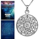 Silver Kabbalah King Solomon  Amulet Against Evil Eye