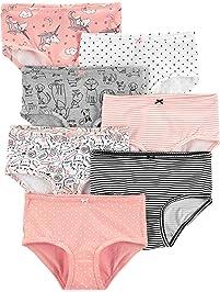 Carter s Girls  Little 7-Pack Underwear 4292f6771
