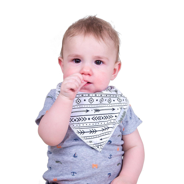 Amazon.com: Dodo Baberos para bebé Bandana + 2 pinzas para ...