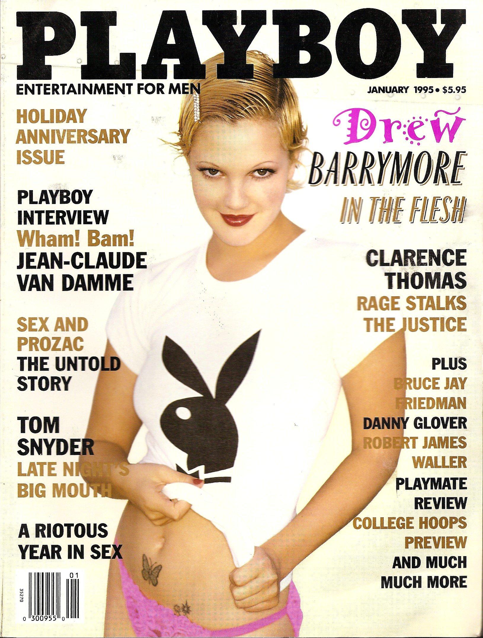 Drew Barrymore Playboy