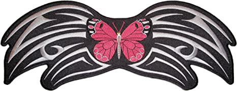 Pink Tribal Butterfly Lady/'s patch