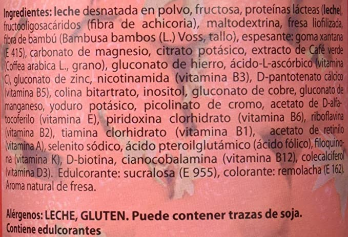 Sotya - Batido saciante, sabor fresa, 700 gr.: Amazon.es: Salud y ...