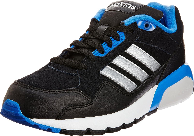 Adidas Neo RUN9TIS Mens Trainer F38632 Black: Amazon.co.uk: Shoes ...
