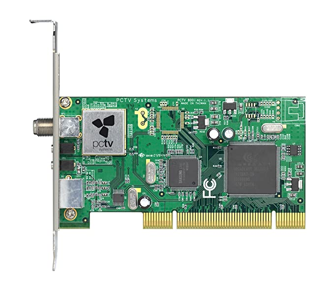 AVID PCTV ANALOG PCI DRIVERS FOR PC