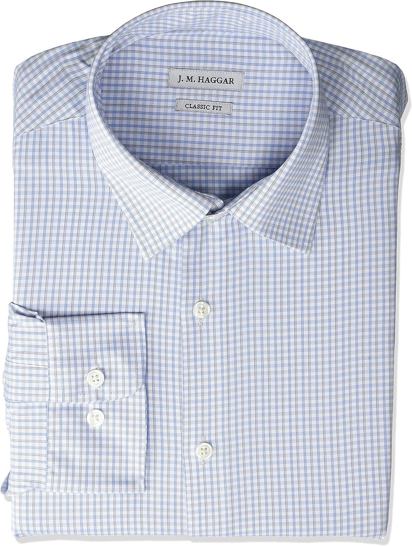 Haggar - Camisa de vestir para hombre: Amazon.es: Ropa y accesorios
