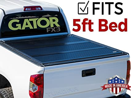 e7d5b4c19b4 Image Unavailable. Image not available for. Color  Gator FX3 Hard Folding  (fits) 2016-2018 Toyota Tacoma 5 Foot Bed Only