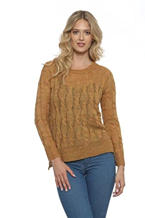 97dede5c3 Cotton Emporium Ultra-Soft Airy Sweaters for Women - (100% Acrylic ...
