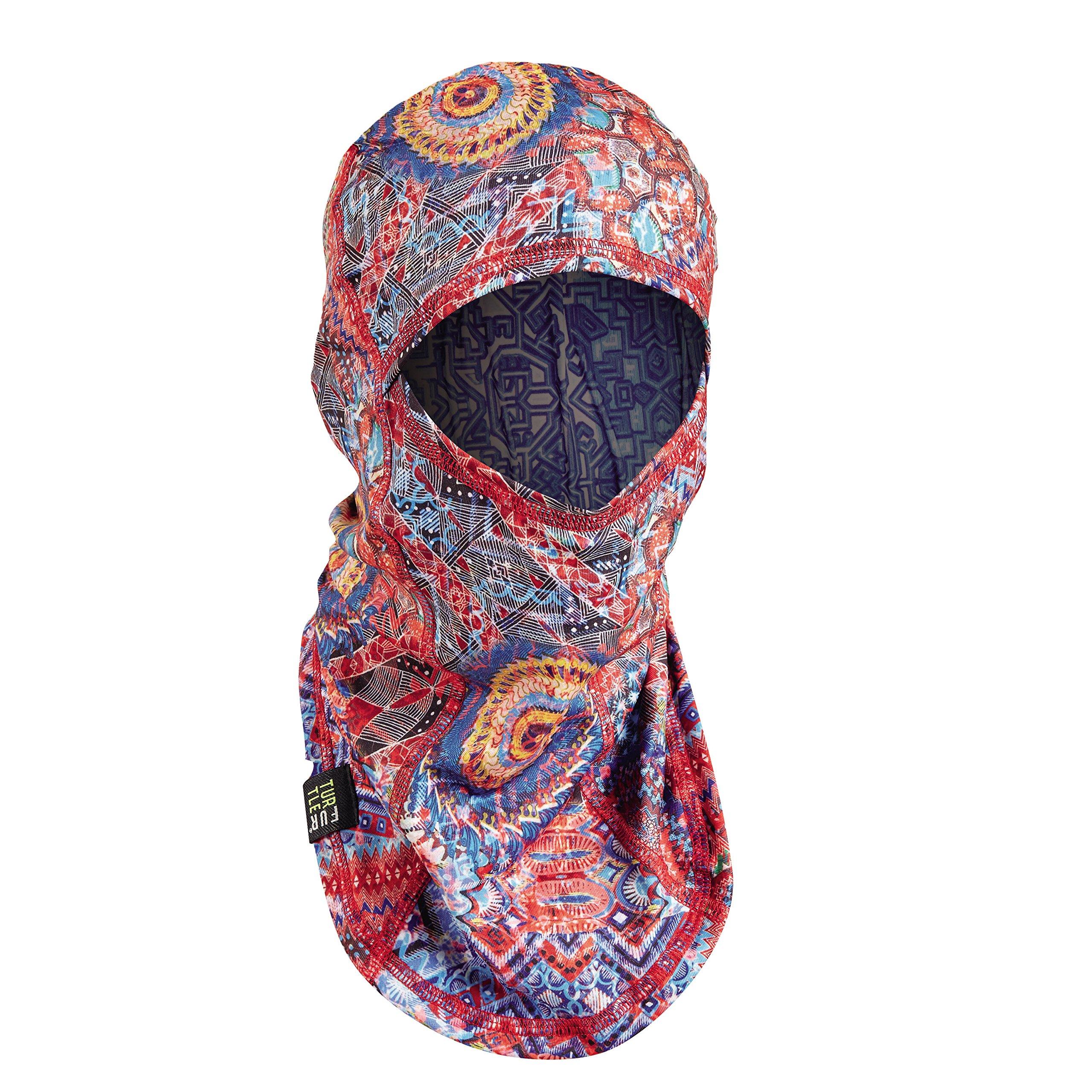 Turtle Fur Comfort Shell UV Ninja Face Mask Lightweight Performance Balaclava Trance in Your Pants