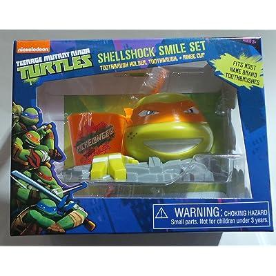 Nickelodeon Teenage Mutant Ninja Turtles Shellshock Smile Set, 3 Pc (COLORS MAY VARY): Toys & Games