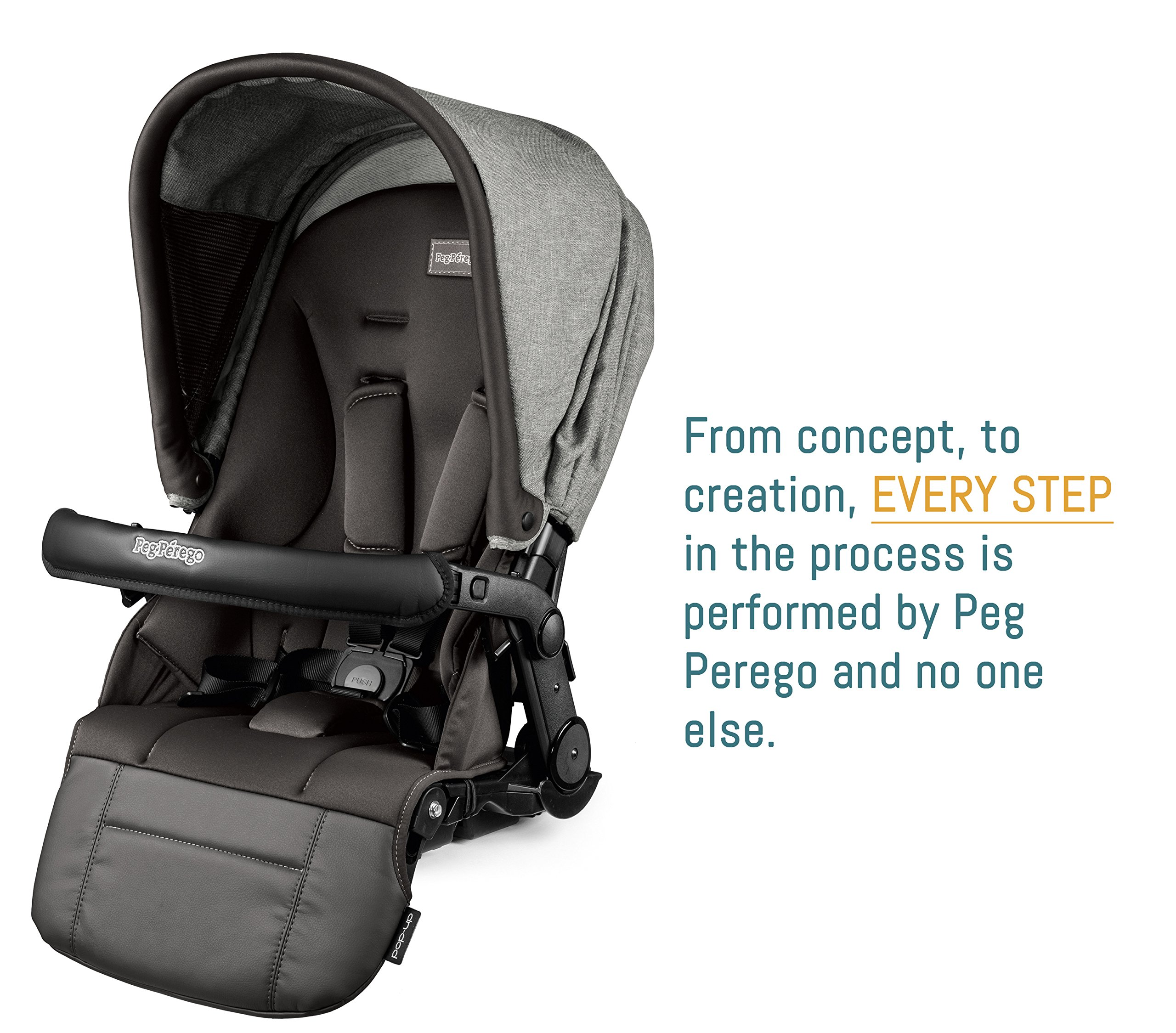 Peg Perego Pop-Up Seat for Team, Duette and Triplette Strollers, Atmosphere by Peg Perego (Image #4)