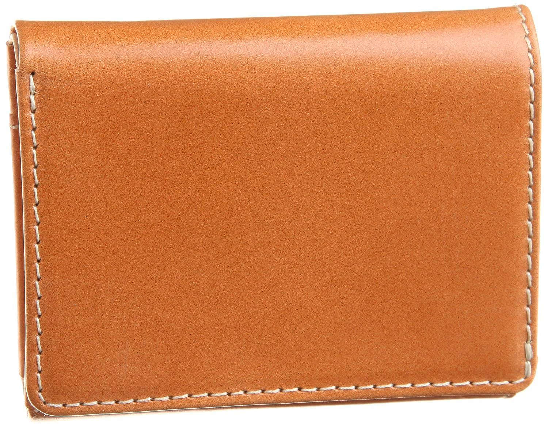 [ブリティッシュグリーン] BRITISH GREEN ブライドルレザー胸ポケット財布 B007ELQE6W  ブラウン