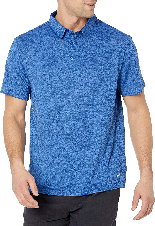 Amazon Essentials Men's Slim-Fit Tech Stretch Polo Shirt