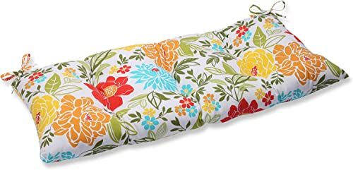 Pillow Perfect Indoor Outdoor Spring Bling Multi Swing Bench Cushion