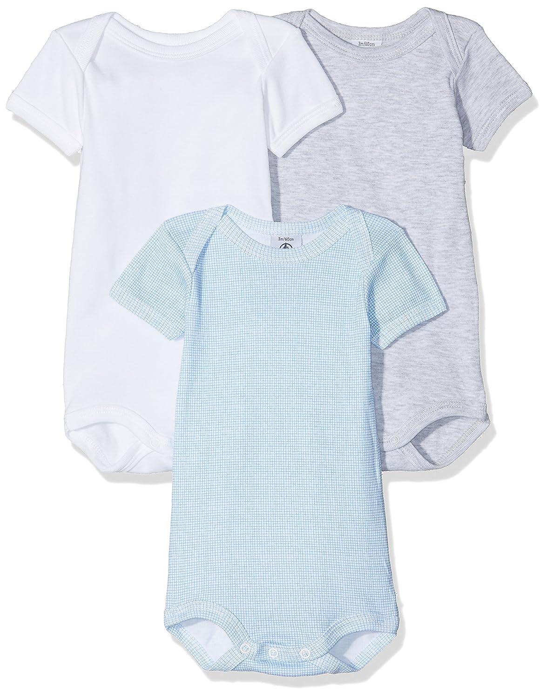 Petit Bateau Conjunto de Ropa Interior para Bebés (Pack de 3) 27654