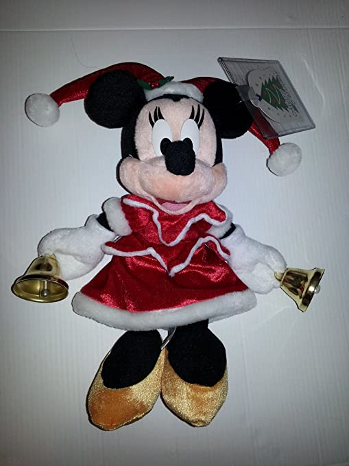 Christmas Minnie Mouse Disneyland.Amazon Com Tokyo Disneyland Large Minnie Mouse Christmas