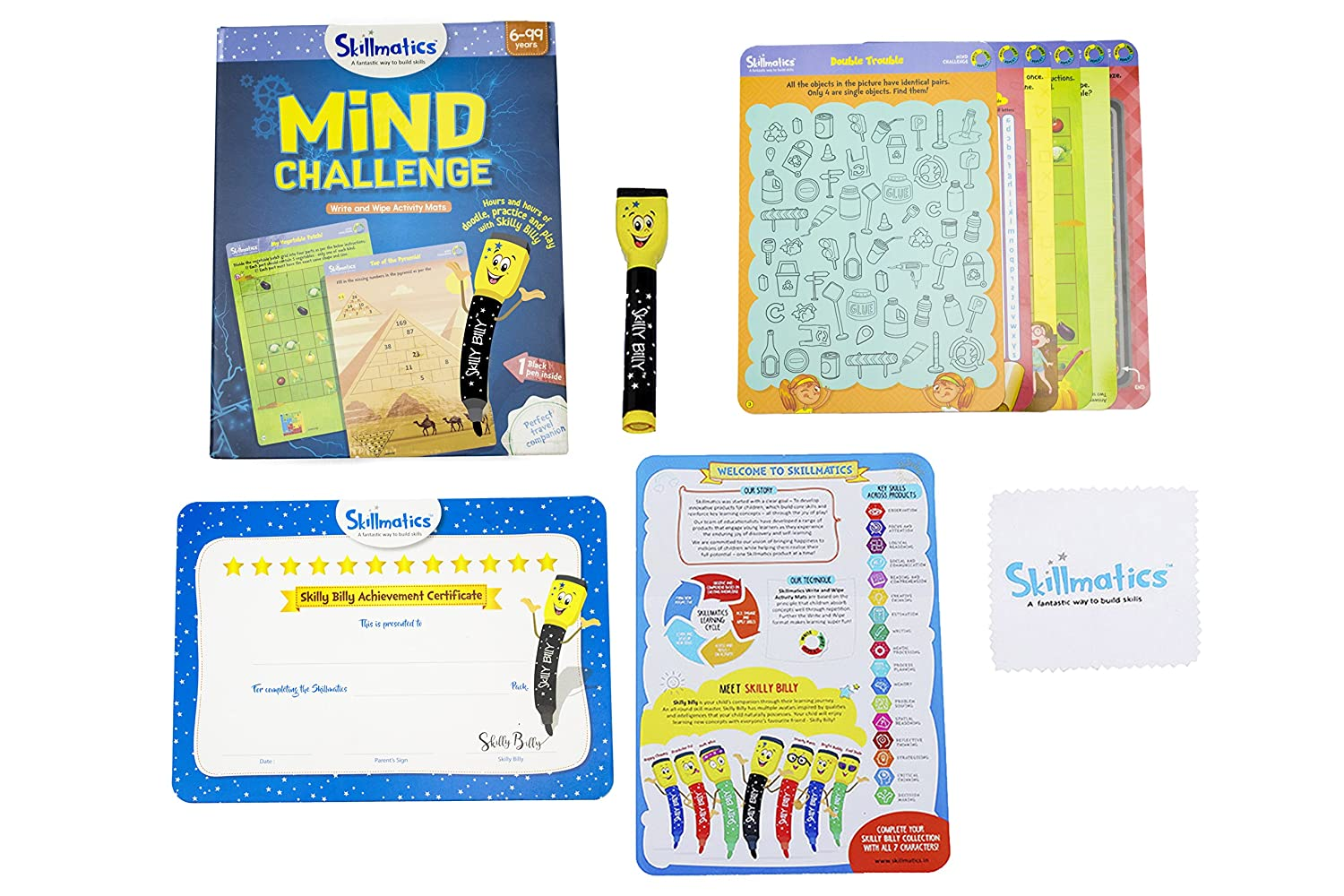 Buy Skillmatics Educational Game Mind Challenge 6 99 Years Online