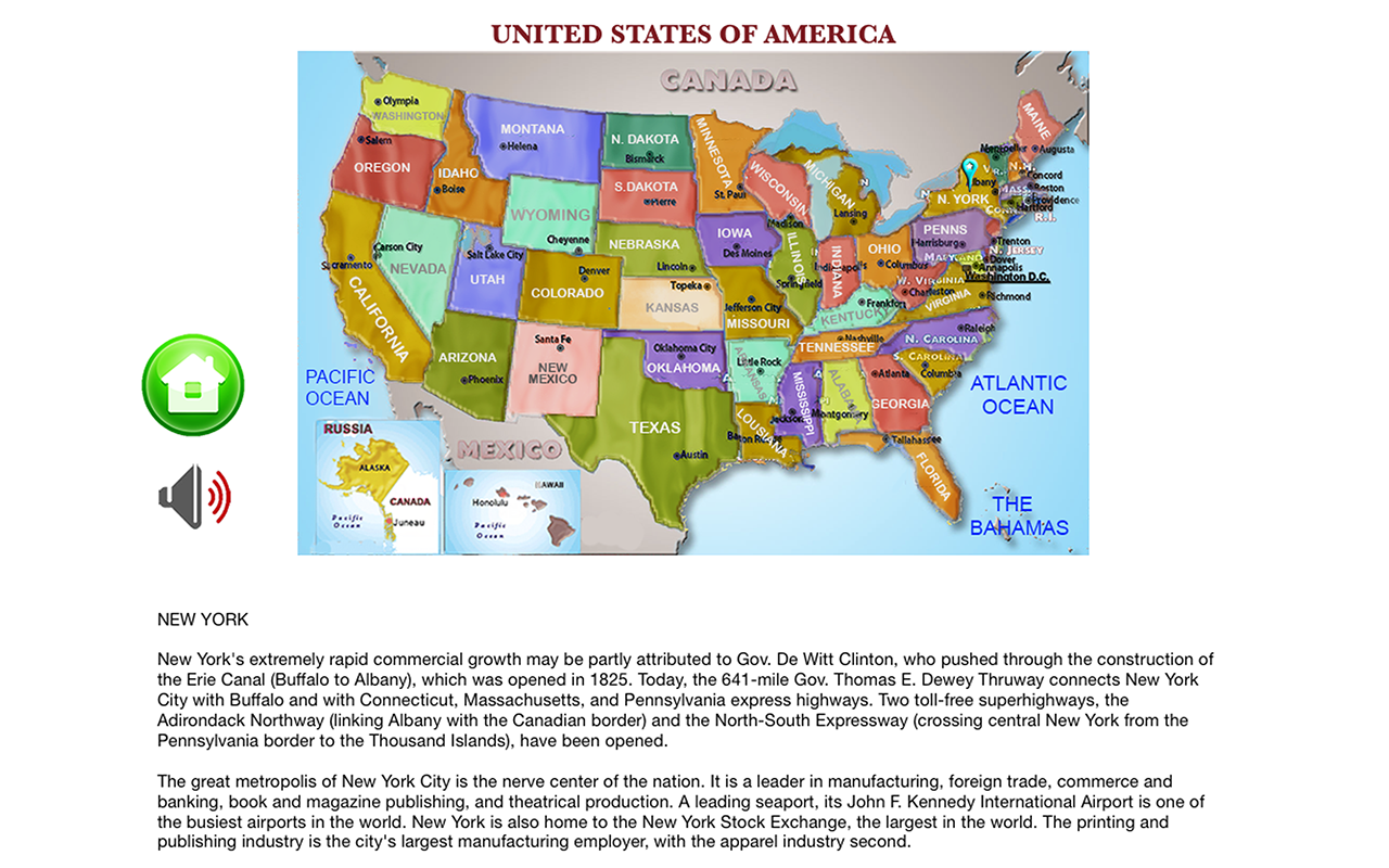 Amazoncom States Capitals Flags Pro Learn United States Of - States and capitals of the usa quiz
