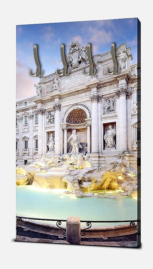 wandmotiv24 Guardarropa Fuente de Trevi, Roma Retrato ...