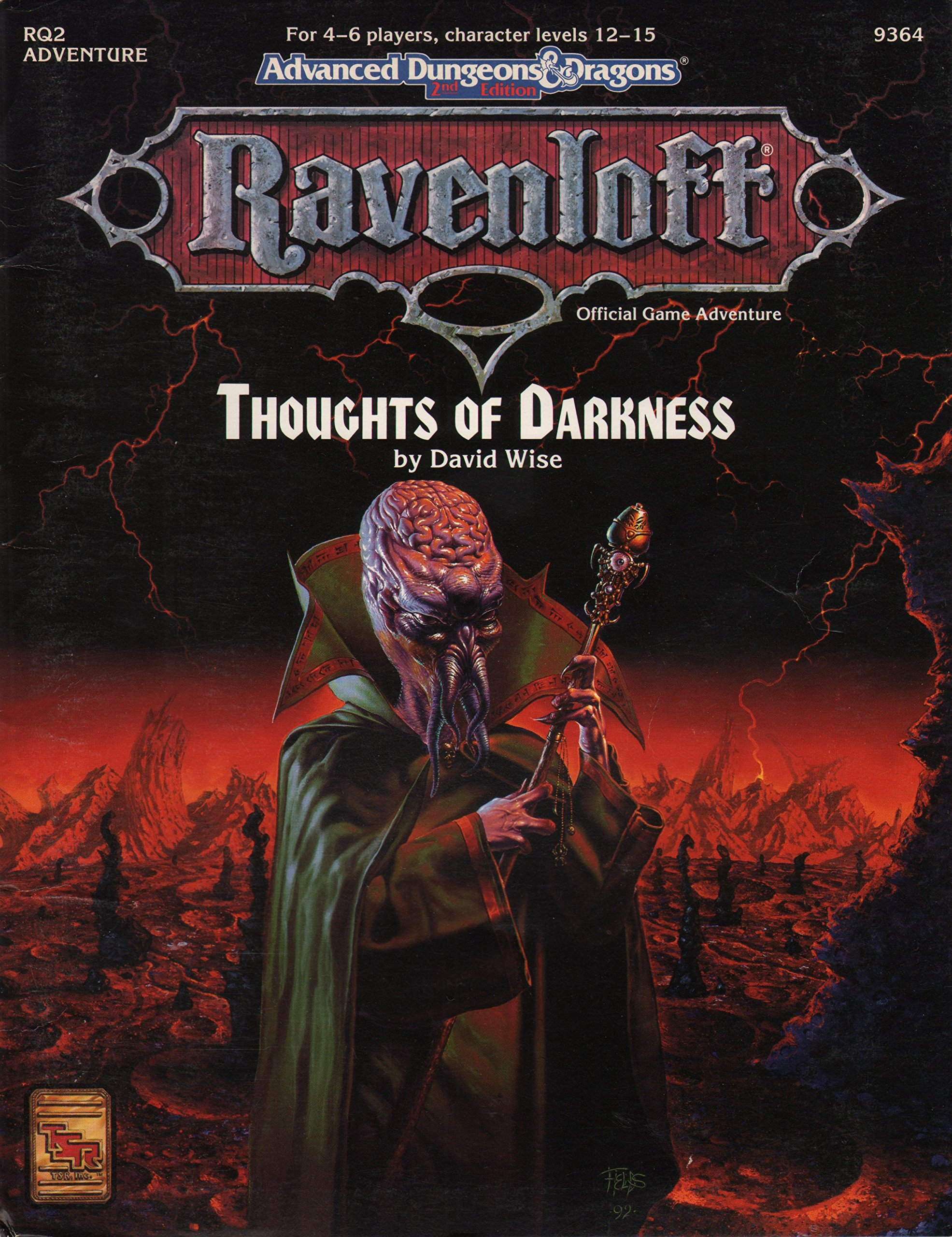 Cover of RQ2 Thoughts of Darkness