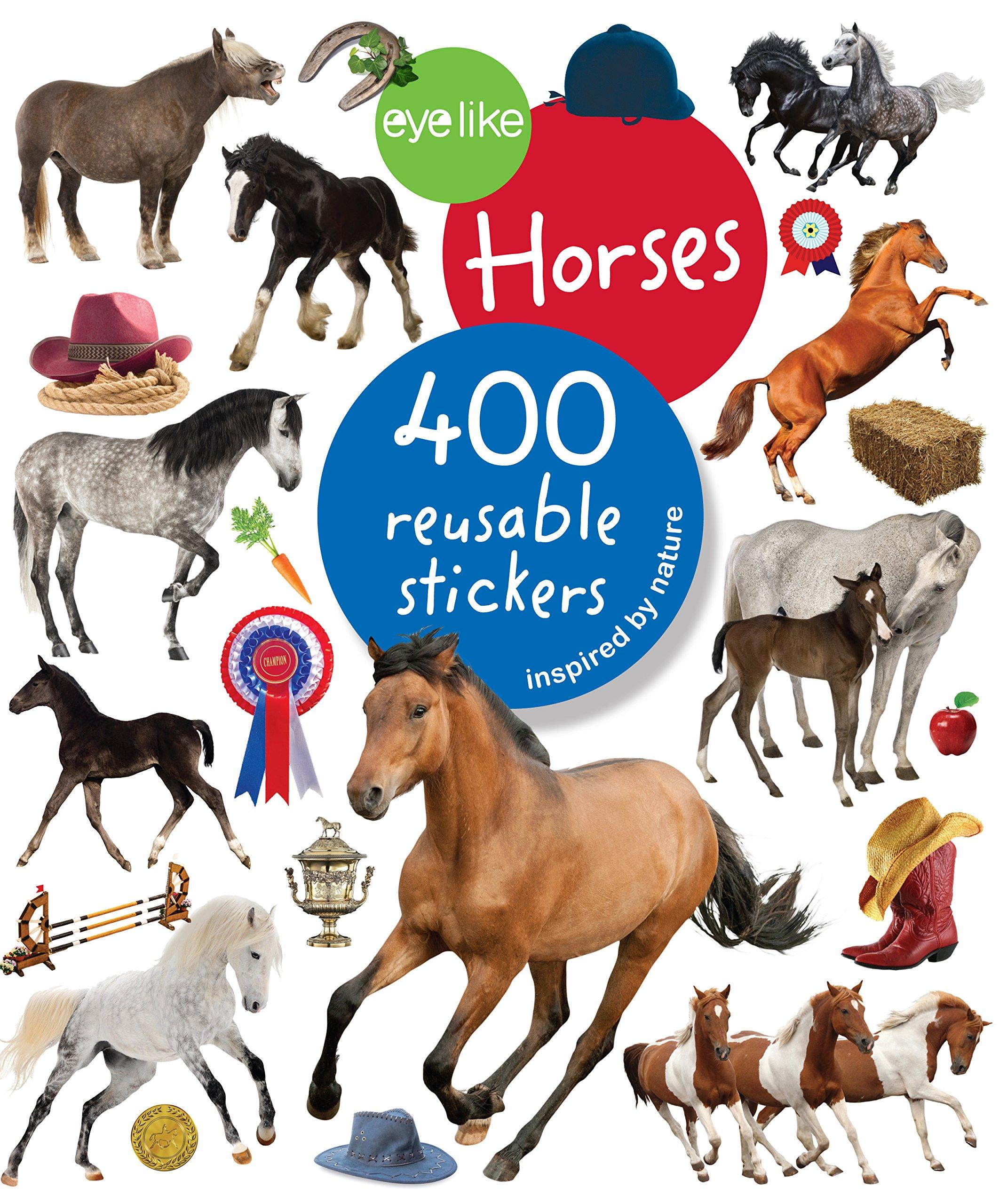 Eyelike Stickers Horses Workman Publishing product image