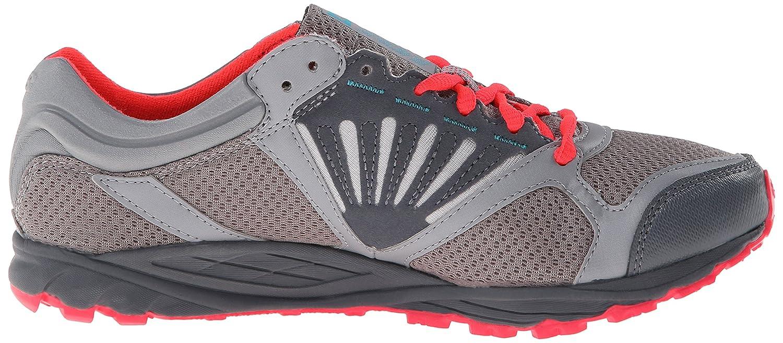 Amazon.com   New Balance Women\u0027s WT101 Trail Shoe, Grey/Pink, 6 B US    Trail Running