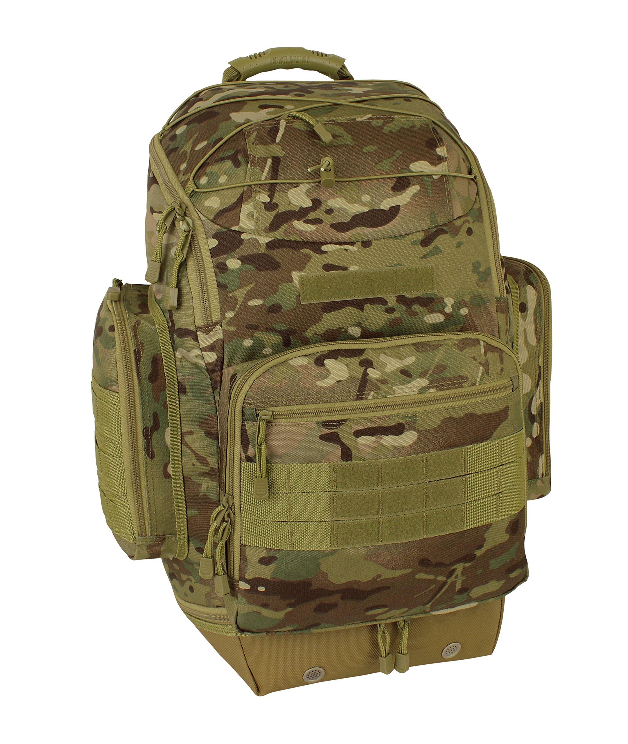 Code Alpha Bravo Zulu Pac Operator's Backpack, Multicam by Code Alpha