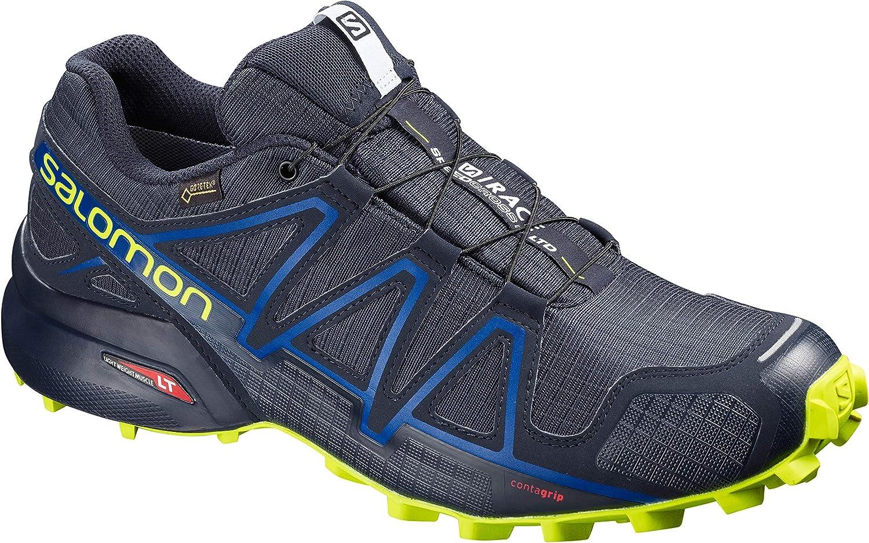 salomon men's speedcross 4 gtx training running shoes kit