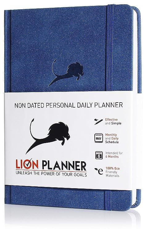 amazon com daily planner calendar and gratitude journal to