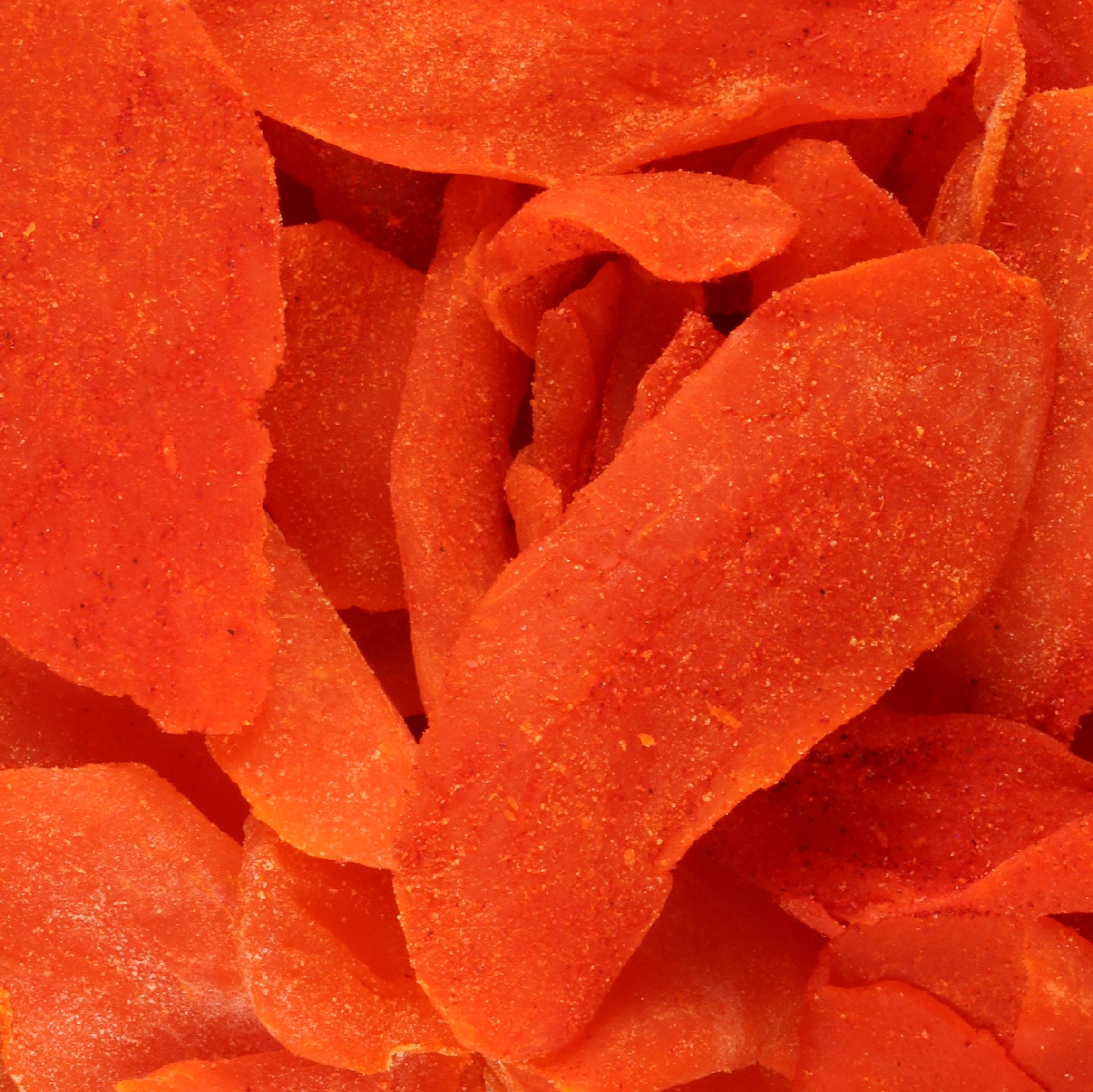 Li Hing Mui Mango - 8 ounce bag - Sweet Dried Ripe Mango sprinkled with Li Hing Mui (plum) powder