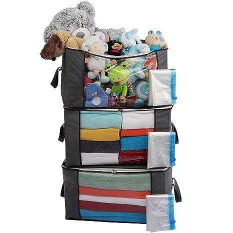 Organizador de almacenamiento de guardarropa, bolsas de ...
