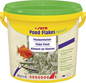 Sera 1 Piece Pond Flakes Fish Food, 1.3 lb/3800 ml