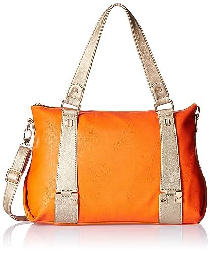 5776f630a27c Marie Claire Women s Shoulder Bag (Orange) (F92950250000HF)  Amazon ...