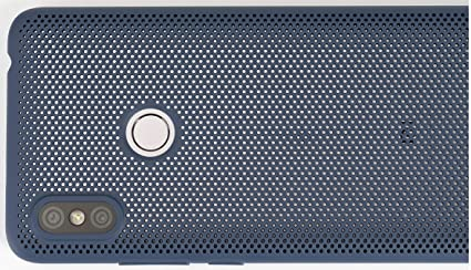 new products 58644 52e97 Mi Perforated Case Cover for Redmi Y2 (Blue)