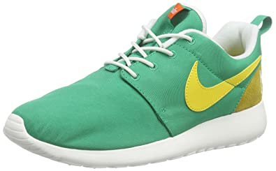 new concept 3a086 0f4bb Nike Men's Roshe One Retro running Shoes, Green (Lucid Green