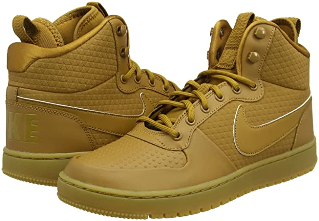 promo code 3fb59 cf9d0 Nike Men s Court Borough Mid Winter Basketball Shoes: Buy Online at Low  Prices in India - Amazon.in