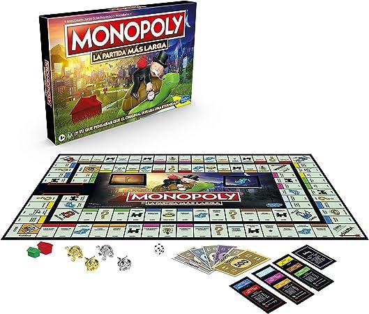 Monopoly- Longest Game Ever (Hasbro E8915105): Amazon.es: Juguetes y juegos