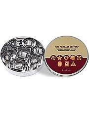 ShengHai Cookie Cutter set – 24 Pieces Metal Cookie Cutters – 3 Hearts Shape, 3 Stars Shape, 3 Flowers Shape and 15 Geometric Shape
