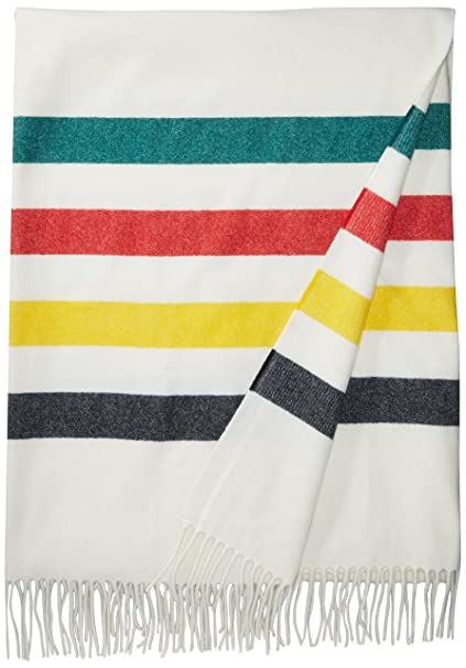 Amazon.com  Pendleton 5th Avenue Throw - Glacier  Home   Kitchen a0621c3f8