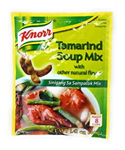 Knorr Tamarind Soup Mix (Sinigang sa Sampalok Mix), 1.41oz (40g)