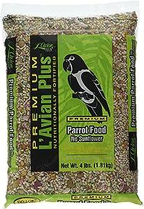 L'Avian Plus Parrot Food No Sunflower, 4 lb