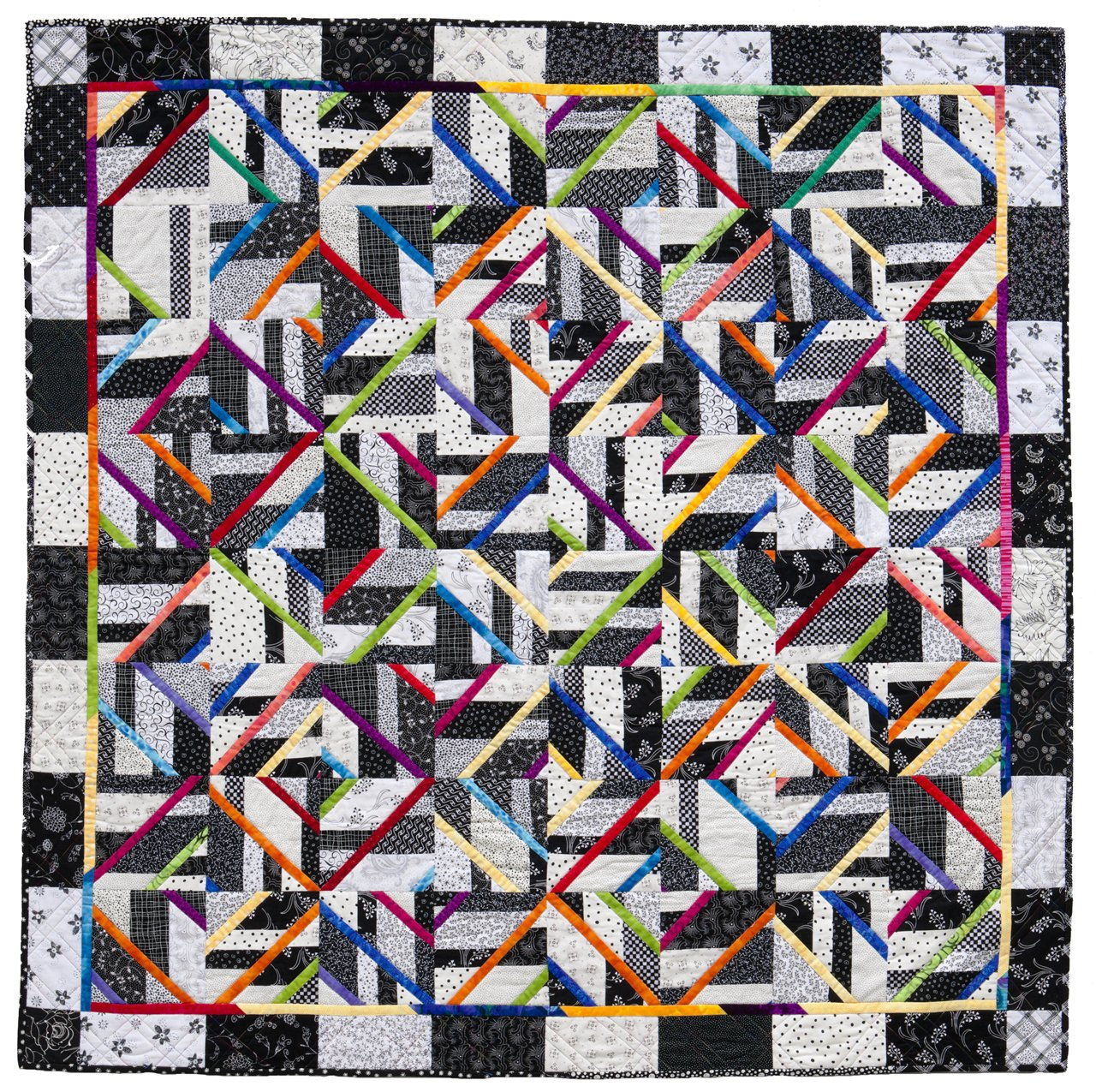 Accent on Angles Easy Strip-set Quilts New Possibilities Quilting Pattern Book